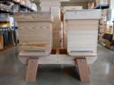 Onderstel voor 2 bijenkasten_