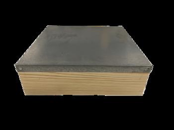 Plat dak - Warre kast