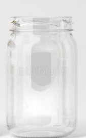 Ronde glazen pot toc58 (209ml - 250gr)